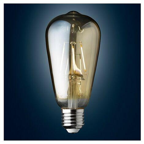 Ampoule Deco Filament Style Edisson LED E27 3 W Blanc Chaud Dimmable