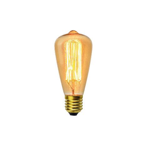 Ampoule décoart incandescente vintage Edison ST64 40W E27 2350K