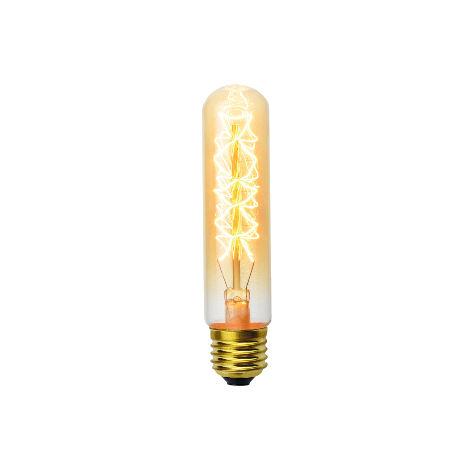 Ampoule décoart incandescente vintage tube T28 40W E27 2350K