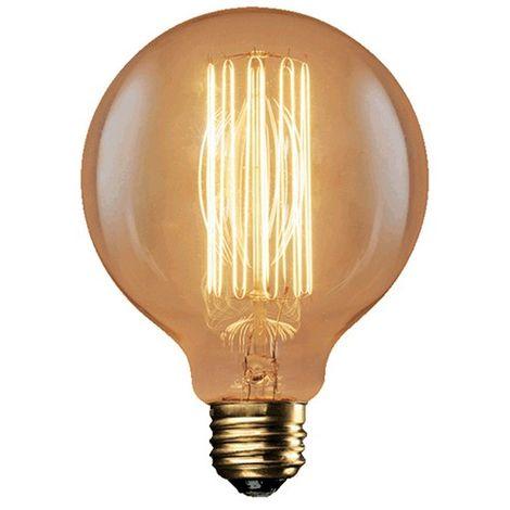 Ampoule décorative vintage G95 F2-17 40W E27 - 599240 - Fox Light - -