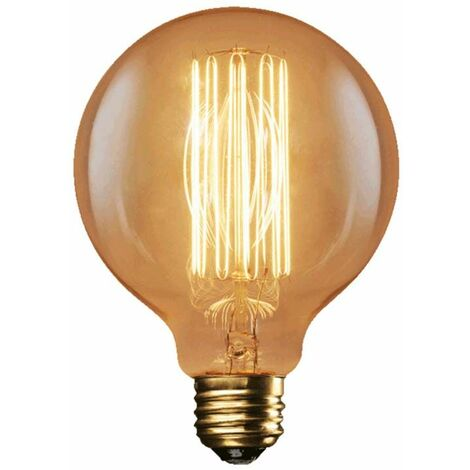 Ampoule décorative G95 F2-17 40W E27