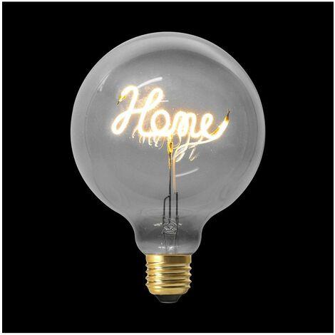 Ampoule décorative HOME - Gris - LED E27 4W equivalent 14W