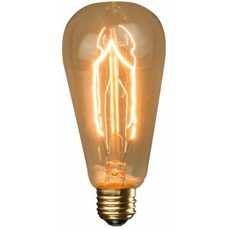 Ampoule décorative ST64 F3-9 40W E27