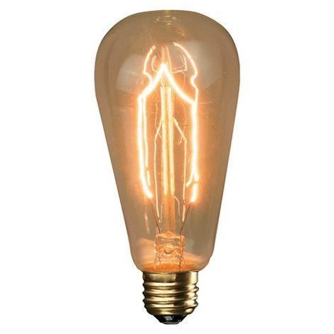 Ampoule décorative vintage ST64 F3-9 40W E27 - 599233 - Fox Light - -