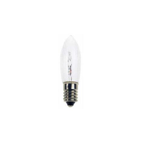 Ampoule E10 - 3W pour les décorations de fêtes, guirlandes...