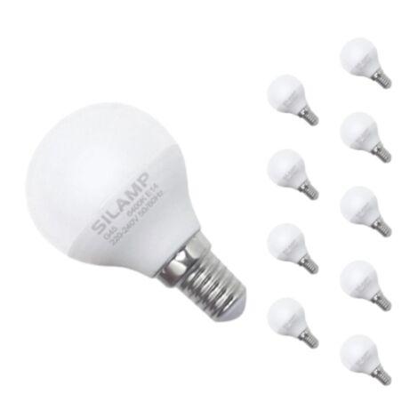 Ampoule E14 LED 8W 220V G45 300 (Pack de 10)