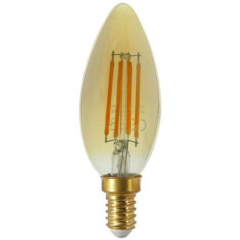 E14 EclairageBlanc Bougie Filament C35 3500k Couleur Led Dimmable 2300k Ampoule 4w Chaud T1FJcl3K