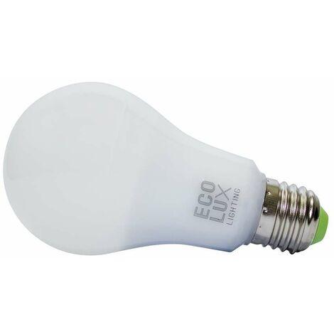 Ampoule E27 A60 10W LED équivalent 75W DOPO - Blanc Chaud 3000K
