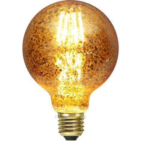 Ampoule E27 Filament Globe 3.5W GOLDFLAKE | Température de Couleur: Blanc chaud