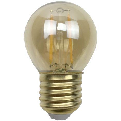 Ampoule - E27/G45 - Filament LED 2W - 2200 K - Antic
