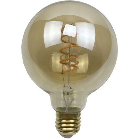 Ampoule - E27/G95 - Filament LED 4W - 2200 K - Antic
