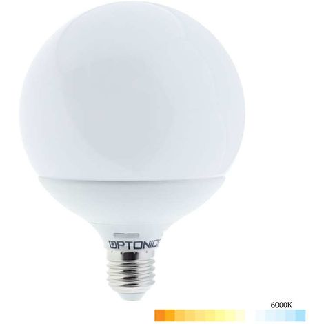 Ampoule E27 globe G120 LED 18W
