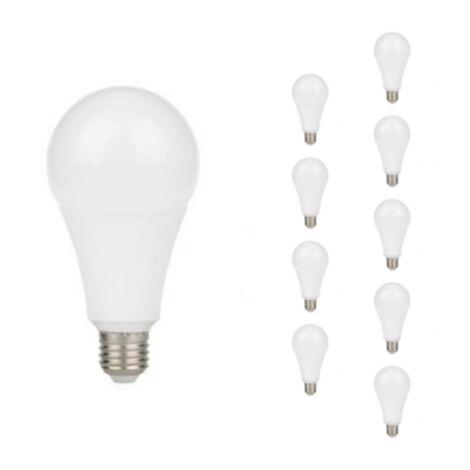 Ampoule E27 LED 18W A80 220V 230 (Pack de 10)