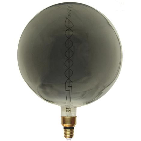 Ampoule E27 LED Filament Dimmable 8W G300 Globe XXL SMOKE - Blanc Chaud 2300K - 3500K