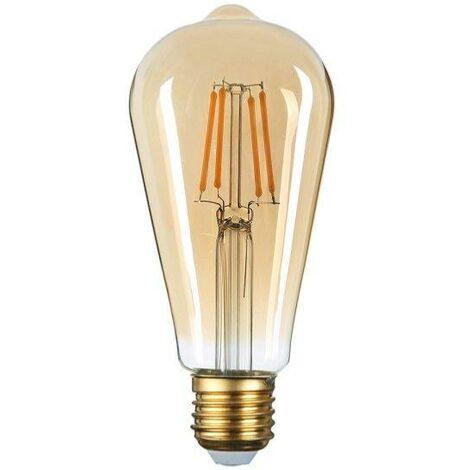 Ampoule E27 LED Filament Dimmable 8W ST64