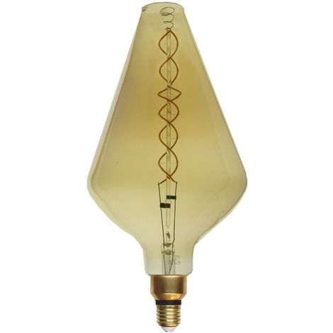 Ampoule E27 LED Filament XXL Dimmable 8W VA188 - Blanc Chaud 2300K - 3500K - SILAMP