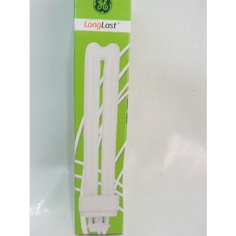 Ampoule éco fluocompacte 26W blanc chaud 3000K culot 4P G24q-3 F26dbx GE LIGHTING 35235