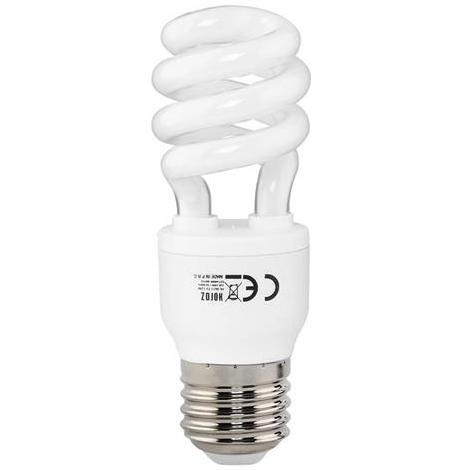 Ampoule Fluo-compact mini-spirale 12W (Eq. 60W) E27 6400K blanc froid