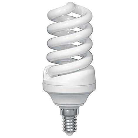 Ampoule Fluo-compact spirale 15W (Eq. 75W) E14 2700K blanc chaud