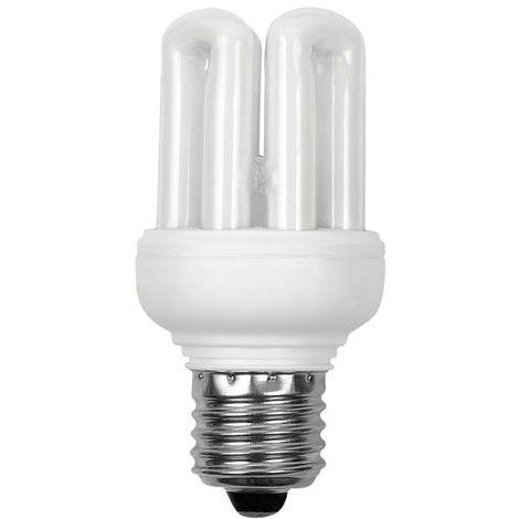 Ampoule Fluocompacte Basse Consommation E27 11W 500Lm équiv 48W Blanc chaud KANLUX - 10681