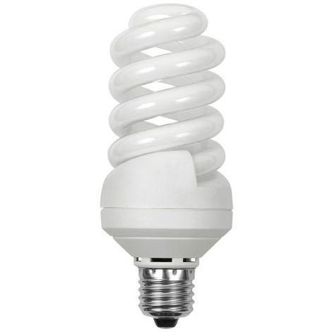 Ampoule Fluocompacte Basse Consommation E27 Spirale 24W 1450Lm équiv 103W Blanc neutre KANLUX - 18233