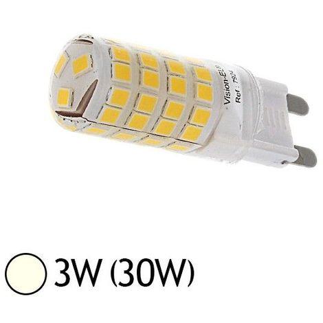 Ampoule G9 3W LED- éclairage 30W Vision-EL 7921