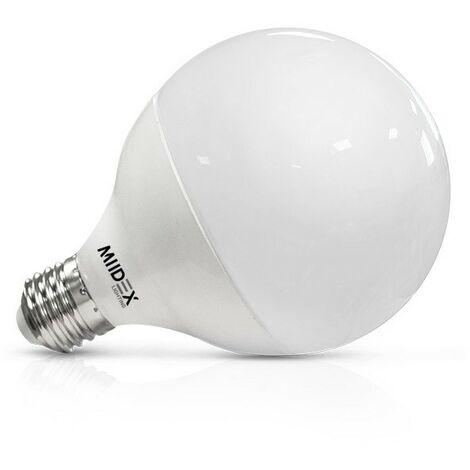 Ampoule LED 20W (180W) E27 Globe opale Blanc jour 4000°K