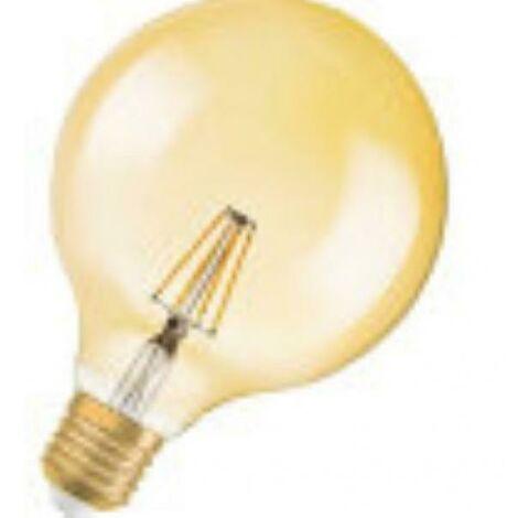Ampoule globe vintage led 7w filament 7w lumie're chaude 2500k grande douille e27 dimmable led808997box1