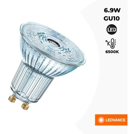 Ampoule GU10 LED 6,9W OSRAM LED VALUE PAR16 80 120º
