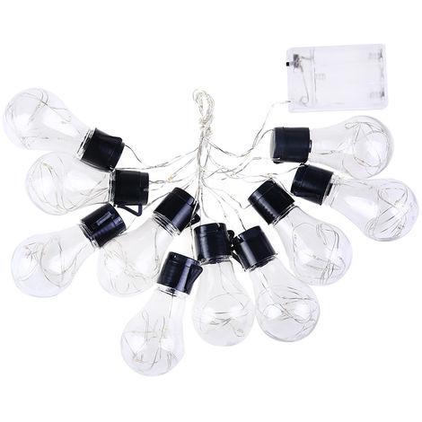 Ampoule Guirlande De Lampe, Avec Boitier En Fil De Cuivre