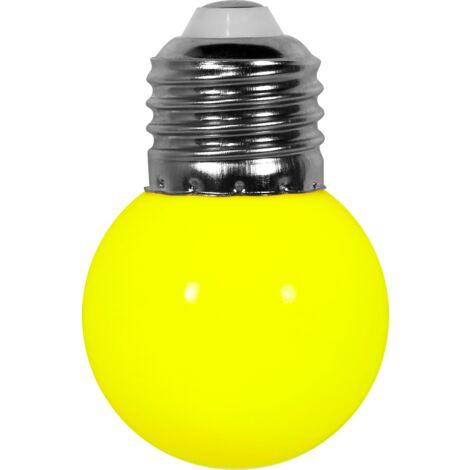 Ampoule Guirlande Guinguette Led E27 Couleur Jaune - Jaune