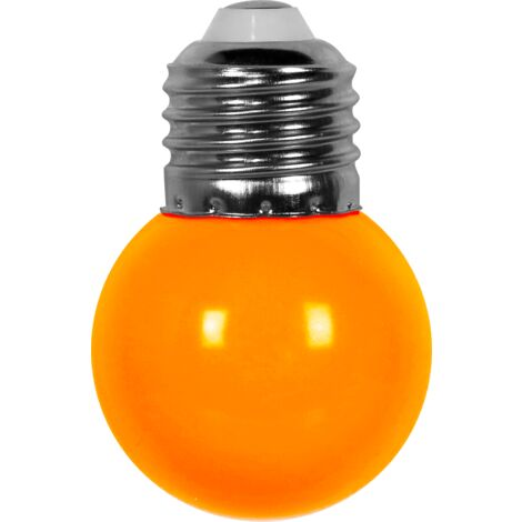 Ampoule Guirlande Guinguette Led E27 Couleur Orange