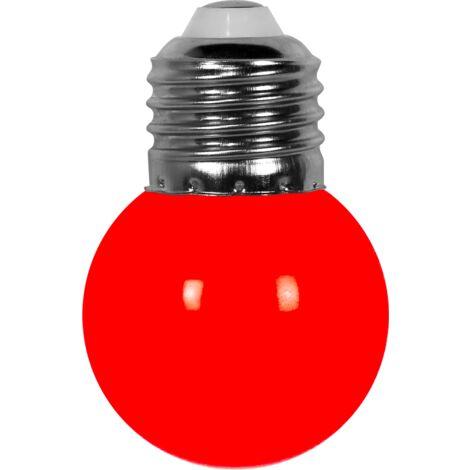 Ampoule Guirlande Guinguette Led E27 Couleur Rouge - Rouge