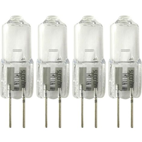Ampoule halogène EEC: C (A++ - E) Sygonix LD-JC-G4-E/10W-4 G4 Puissance: 10 W blanc chaud