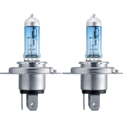 Ampoule halogène H4 Philips H4 WhiteVision ultra 12342WVUSM WhiteVision, WhiteVision effet xénon 60/55 W 12 V 1 paire(s)