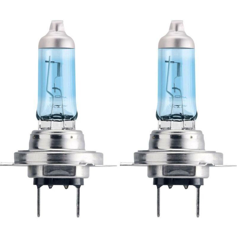 12972WVUSM Ampoule halogène WhiteVision, WhiteVision effet xénon H7 55 W 12 V - Philips