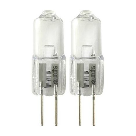 AMPOULE HALOGÈNE SYGONIX LD-JC-G4-E/10W EEC: C (A++ - E) G4 32 MM 12 V 10 W BLANC CHAUD 2 PC(S)
