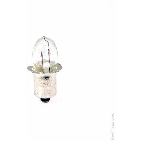 Ampoule Krypton 3,6V 0,75A culot lisse