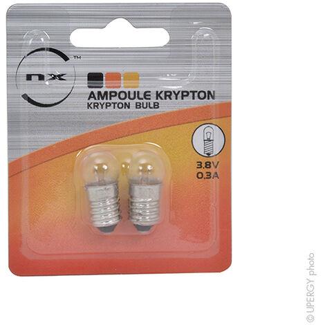 Ampoule Krypton 3,8V 0,3A à vis pour ETX9023 nouveau modèle