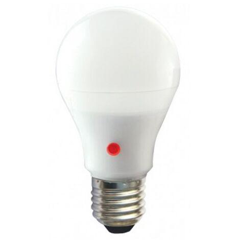 Ampoule LED 10W 230V à culot E27 + détecteur crépusculaire
