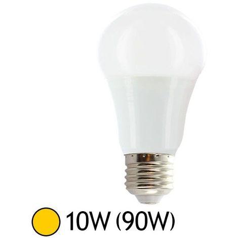 Ampoule LED 10W (90W) E27 Bulb Blanc chaud 2700°K