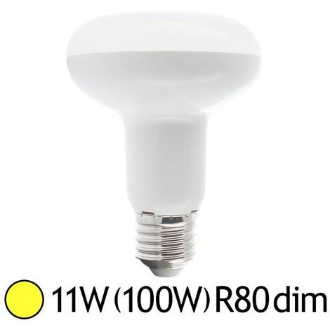 """main image of """"Ampoule Led 11W (100W) E27 Spot R80 Dimmable Blanc chaud"""""""
