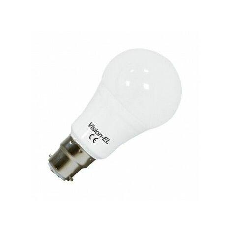 Ampoule Led 12W (110W) B22 bulb opale Blanc chaud 3000°K