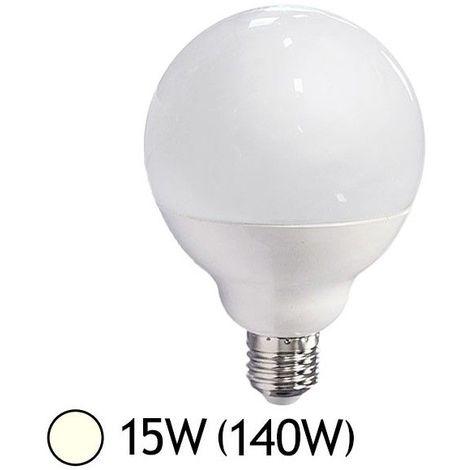Ampoule LED 15W (140W) E27 Globe Blanc jour 4000°K