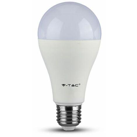 Ampoule LED E27 A65  15W Vt-2015 - Blanc Froid - 6400k - 200 Deg V-TAC