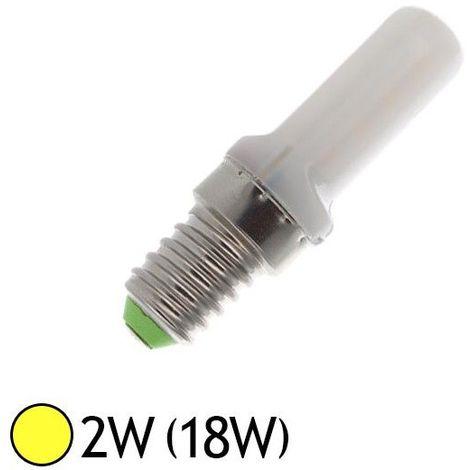 Ampoule Led 2W (18W) E14 spécial Frigo - Blanc chaud 3000°K