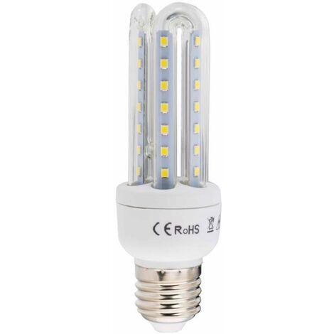 Ampoule led 3 tubes E27 14w blanc/froid