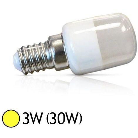 Ampoule Led 3W (30W) E14 spécial Frigo-Hotte Blanc chaud 3000°K