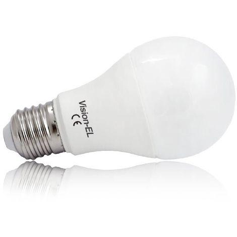Ampoule Led 6W (55W) E27 Blanc chaud 3000°K Bulb Opale