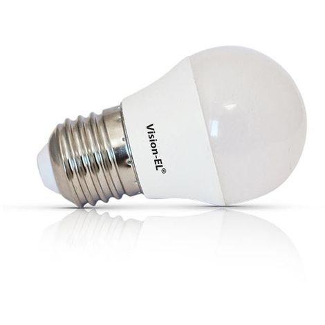 Ampoule Led 6W (55W) E27 Dimmable Blanc jour 6000°K opale